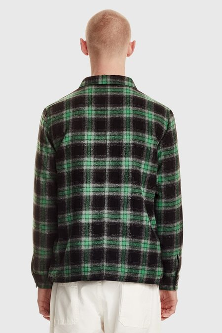 COMMONERS Flannel Overshirt - Forest
