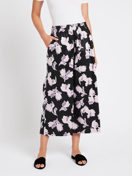 Rebecca Taylor Ikat Blossom Pant - Black