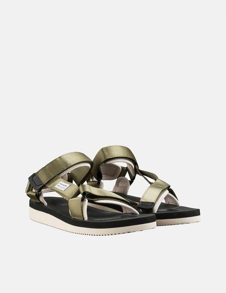 A.P.C x Suicoke Sandals - Khaki Green