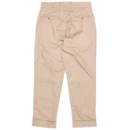Engineered Garments High Count Twill Andover Pant - Khaki