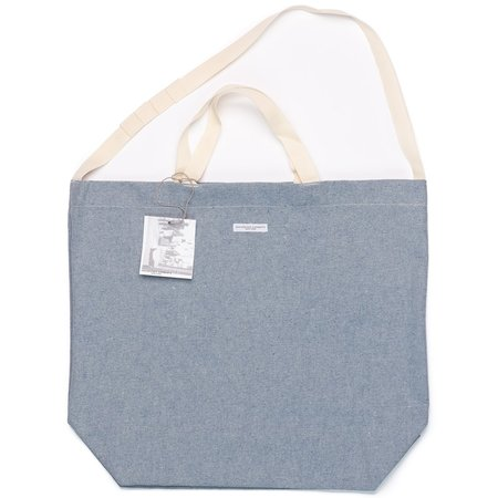 Engineered Garments Upcycled Denim Carry All Tote - Blue