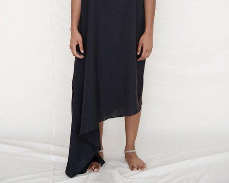 Baserange Fawn Dress - Black