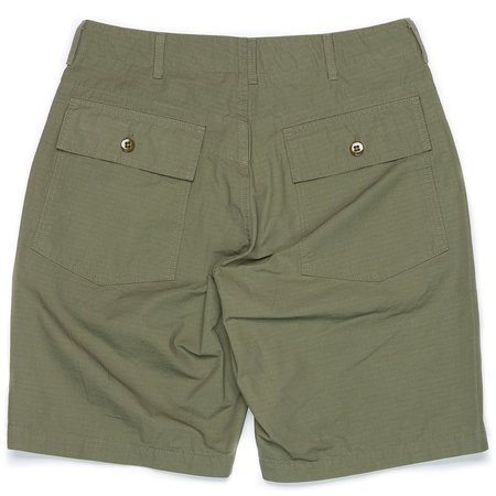 Engineered Garments Cotton Ripstop Fatigue Short - Olive