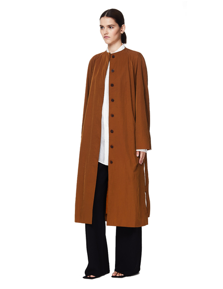 The Row Brown Belted Coat - Brown