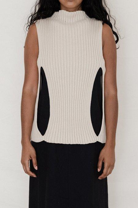 Baserange Cotton Rib Cirri Pullover