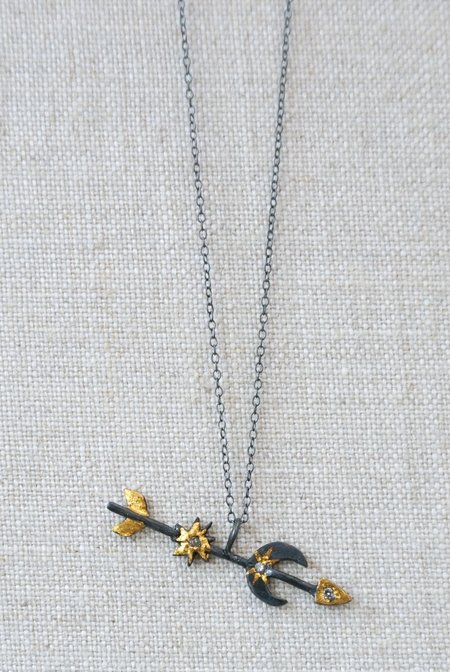 ACANTHUS Celestial Path Necklace - Silver/Gold