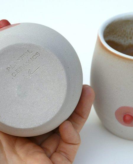 PLAYFUL CERAMICS Pink Nipple Cups