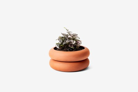 Areaware Stacking Planter Short - TERRACOTTA