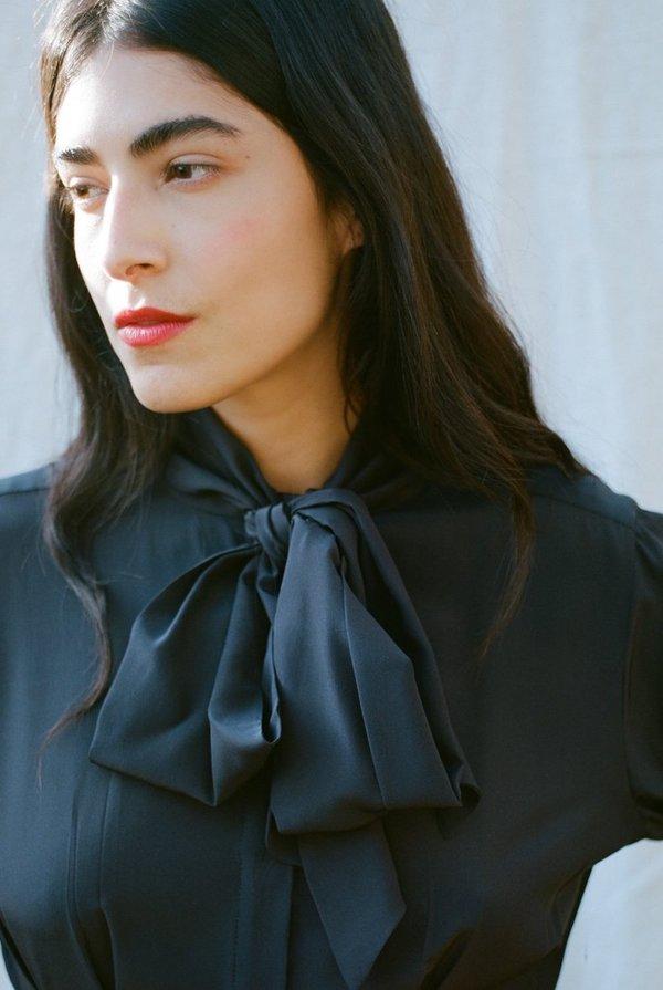 BEATRICE VALENZUELA blouse - black