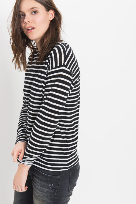 R13 - Striped Boy Tee