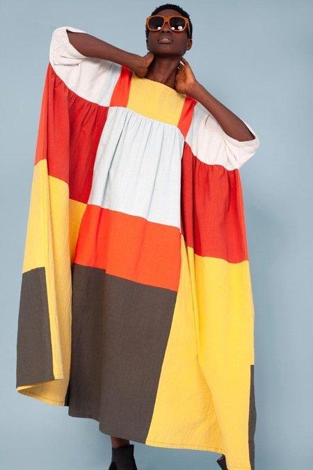 L.F.Markey Dustin Dress - Patchwork