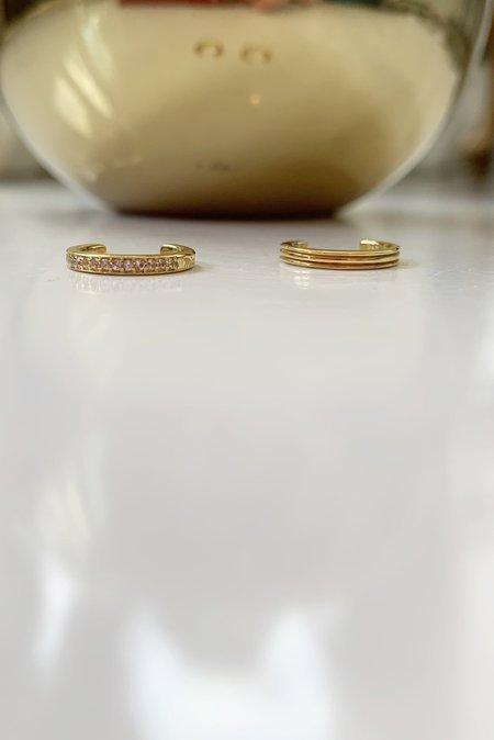 Miansai Eclipse Ear Cuff Set - Gold Vermeil
