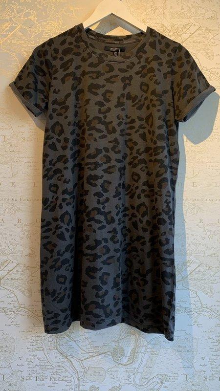 Brunette Tee Dress - Leopard