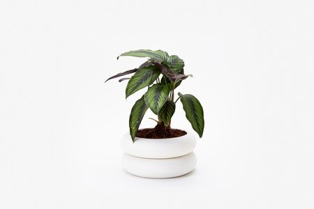 Areaware Stacking Planter Short - White