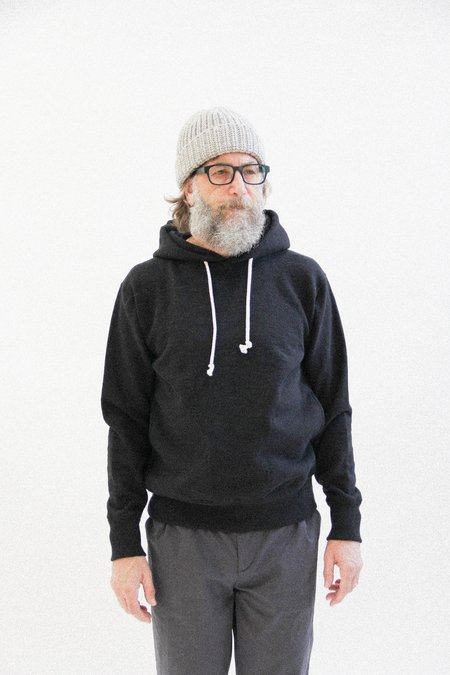 Jackman GG Sweat pullover parka - black
