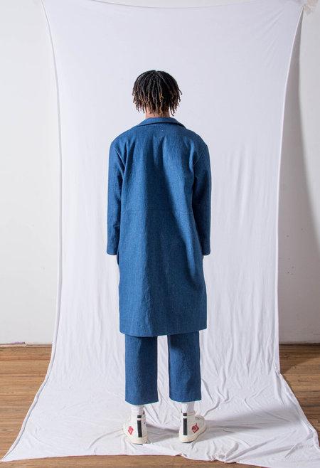 FAAN KINSMAN denim JACKET - dark blue