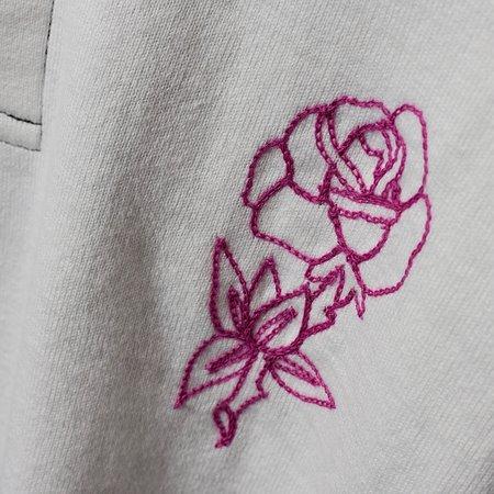 Tilted Brim 1-of-1 Rugby - pink rose