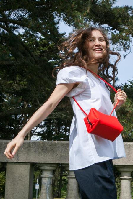Frrry Rivet Tuesday Bag - Red