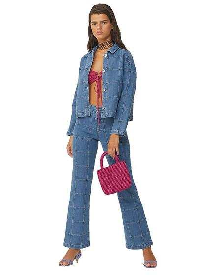 Unisex Paloma Wool Benito jacket - stretch denim
