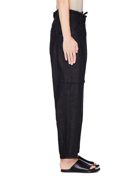 Y's by Yohji Yamamoto Yohji Yamamoto Cotton Jeans - Black