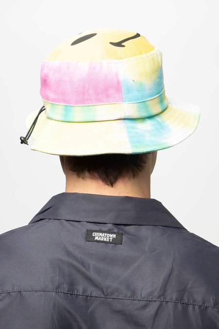 Chinatown Market Smiley Bucket Hat - Tie Dye