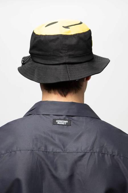 Chinatown Market Smiley Bucket Hat - Black