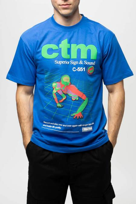 Chinatown Market SSS T-Shirt - Royal
