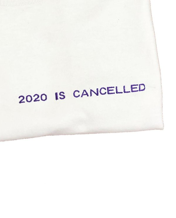 House of 950 embroidery 2020 is cancelled tee shirt