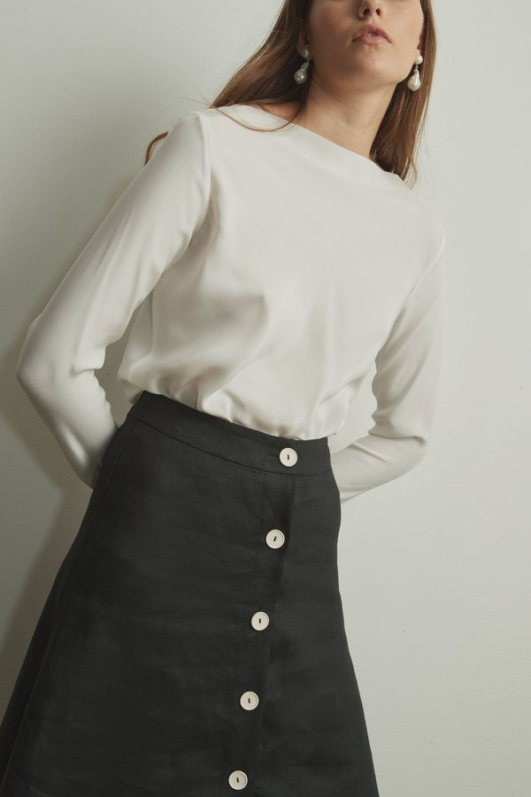 Mina Chloe Skirt - Black