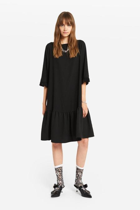 Ottod'Ame Midi Dress With Ruffle