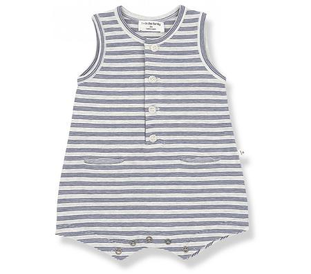 Kids 1+ in the Family Maxime Romper - Mint