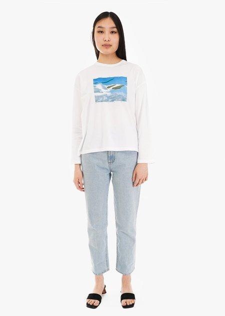 unisex Paloma Wool Souvenir Isole Paloma T Shirt - off white