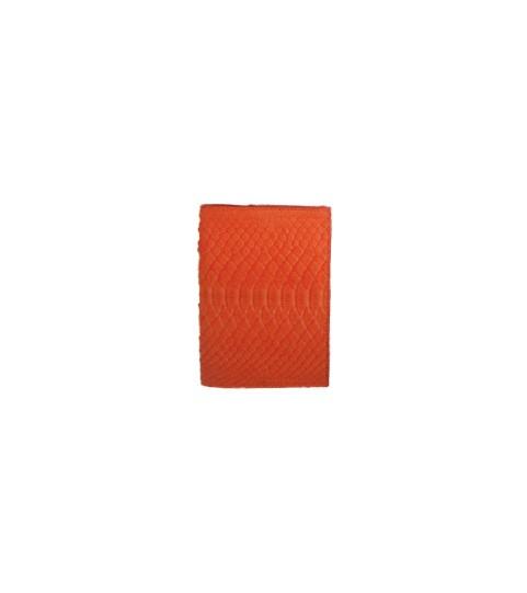 Mini Gold Crossbody Python Passport Holder