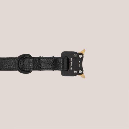 1017 ALYX 9SM Dog Collar & Leash - Black