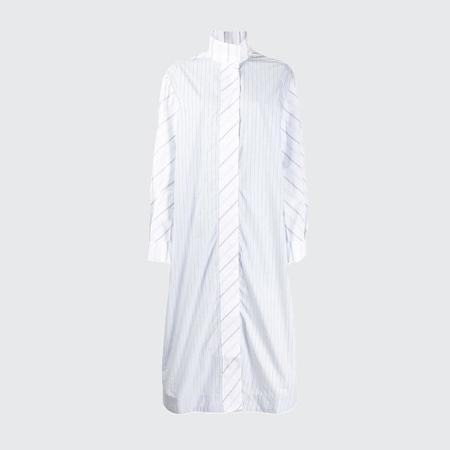 Ganni Cotton Shirt Dress - BLOCK