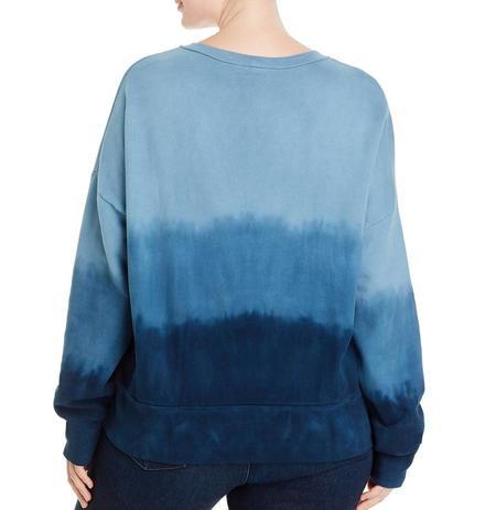 LnA Drop Shoulder Sweatshirt - Navy Ombre