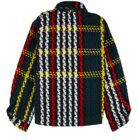 Lifted Anchors Interlaced Woven Flannel