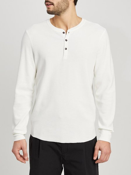 ONS Court Waffle Henley