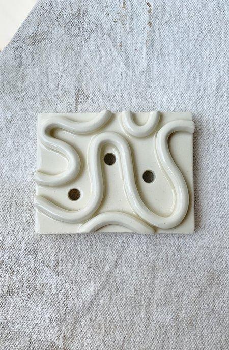 Melissa Koenig Ceramics Squiggle Soap Dish