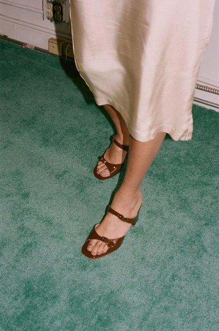 Maryam Nassir Zadeh Una Sandal - Carob