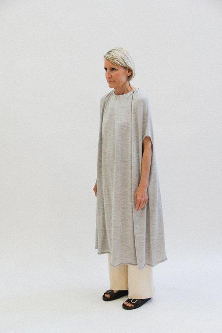 Lauren Manoogian gather dress - light grey