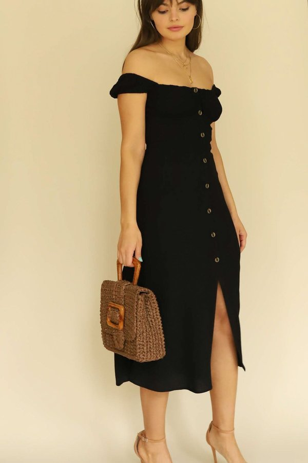 ASTR the Label Black Bonjour Dress