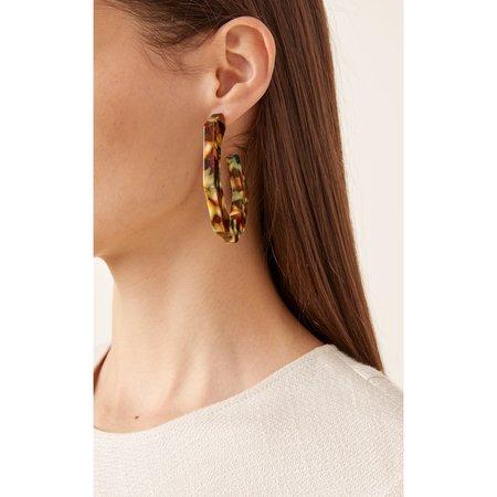 Rachel Comey Factor Earring - Green/Yellow Mix