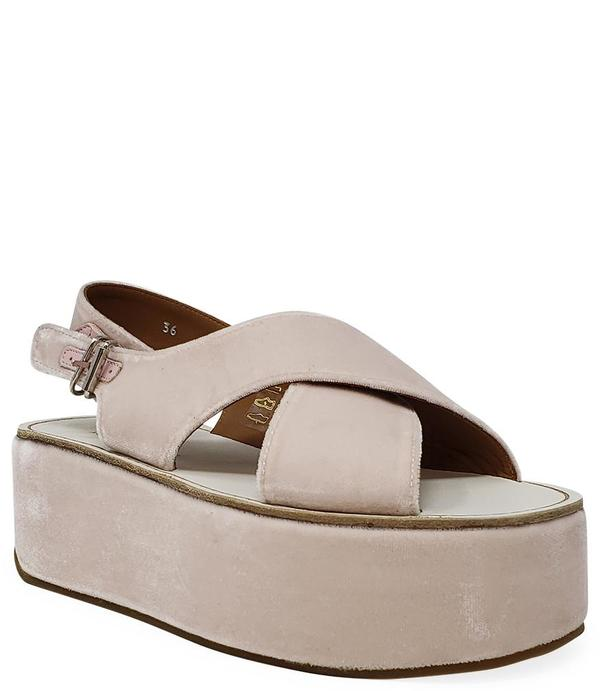 Madison Maison by Flamingos Open toe Wedge Sandal - Pink