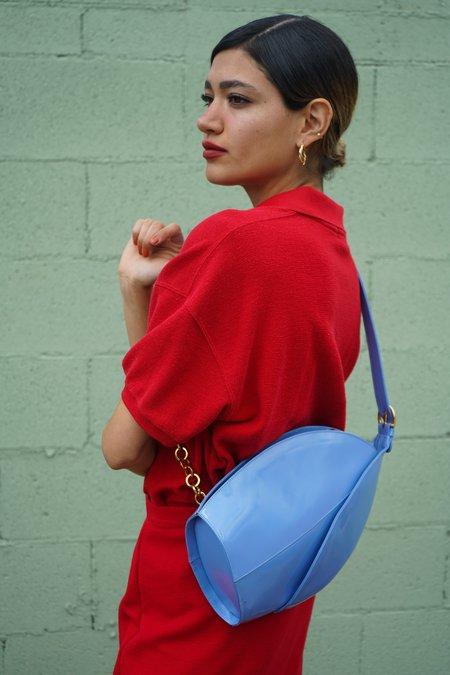 Luca Ryann Vintage Fontanelle Italia Leather Crossbody Bag