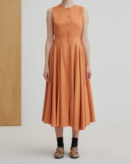 Kowtow Reflect Dress - Orange