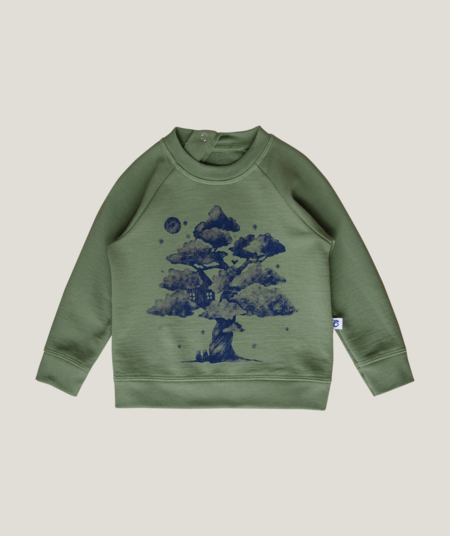 kids Granelito Organic Pima Cotton Dream Tree Sweatshirt