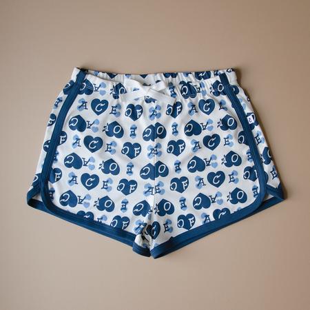 Granelito Ace Of Hearts Shorts - Blue