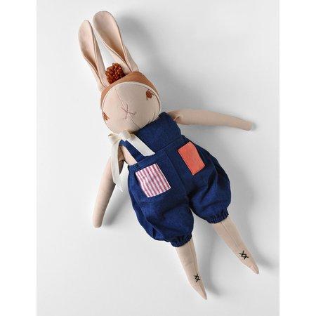 Polka Dot Club Large Peach Rabbit - Jules