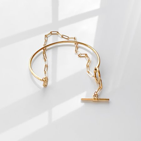 Thatch Amaris Cuff Bracelet - gold